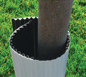 Single faced Corrugated Plastic Tree Wrap