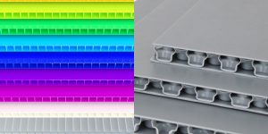 PP Corrugated Sheet and PP Honeycomb Bubble Guard Board