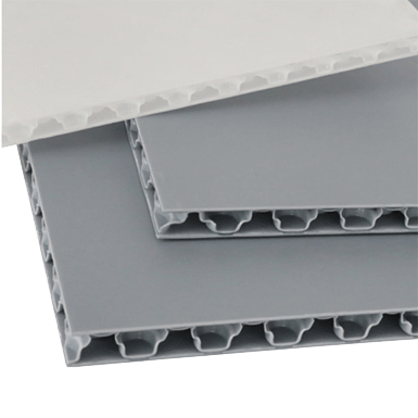 Twin Wall Sheet Con pearl board