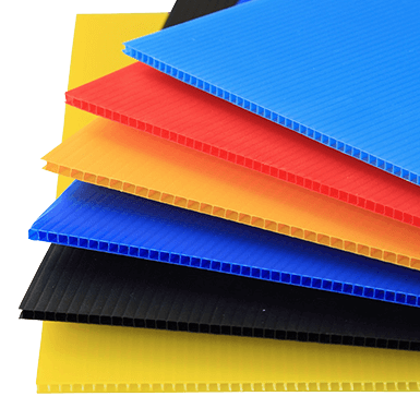 polypropylene fluted Corrugated Sheet